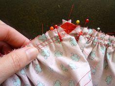 Sew v waist or basque waist to skirt - Crescent Sew-Along #18: Attaching the Waistband