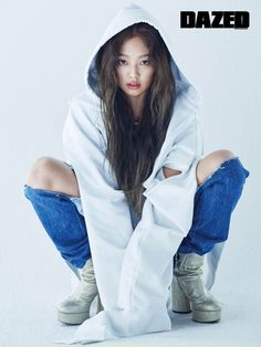 BLACK PINK Jennie for Dazed And Confused magazine April Issue '17