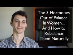 The 3 Hormones Out of Balance in Women... And How to Rebalance Them  Full article: http://modernhealthmonk.com/weight-loss-for-women-over-40/