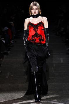 Givenchy, by Riccardo Tisci, AW 2012-2013. Wonderfully gothic!