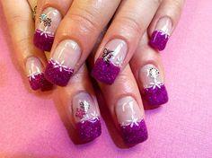 Purple  by Kimhanzlik - Nail Art Gallery nailartgallery.nailsmag.com by Nails Magazine www.nailsmag.com #nailart