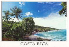 Es una tarjeta postal en Costa Rica. Puede comprar en una tienda.