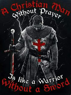 Battle Hard and pray without ceasing. I love this image. Christian Warrior, Christian Faith, Christian Memes, Warrior Quotes, Prayer Warrior, Life Quotes Love, Faith Quotes, Military Quotes, Armor Of God