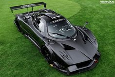 Pagani Zonda R by 1GrandPooBah, via Flickr