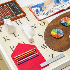 Inspiring gifts for creatives, from watercolour sets to sketching pencils.