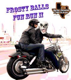 Frosty balls poker run 2018