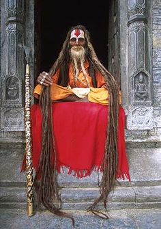 Saddhu hair India