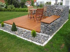 Gartengestaltung mit steinen und kies bilder impressum baum best garten ideen garten - Gartengestaltungsideen mit gabionen ...