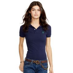 Skinny-Fit Polo Shirt - Polo Ralph Lauren Small Pony - Ralph Lauren France