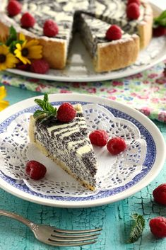 Juditka konyhája: ~ TÚRÓS - MÁKOS TORTA ~ Sweet Desserts, Dessert Recipes, Hungarian Recipes, Deserts, Food And Drink, Pie, Pudding, Sweets, Cookies