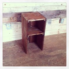 Pallet wood Bedside Table