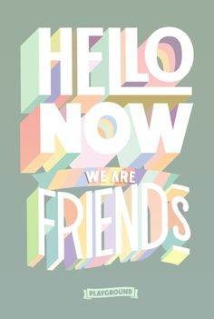 Typography Design'What a spring time pallette of simply eccentric smiling type! Typography DesignSource : What a spring time pallette of simply eccentric smiling type! Typography Quotes, Typography Inspiration, Typography Letters, Typography Poster, Graphic Design Inspiration, Graphisches Design, Typo Design, Slogan Design, Graphic Design Typography