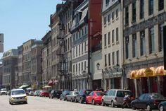 montreal, canada | Picture of Rue de la Commune - Montreal | Montreal | Canada