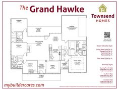Floor Plan + Photo Gallery + Back to Other Plans + The Grand Hawke is perfect for growing families as it combines modern design with open spaces and lots of storage. Like the Hawke, the Grand Hawke has a true… Townsend Homes, Louisiana Homes, Garage House, Patio Dining, Kitchen Styling, Kitchen Living, Great Rooms, House Plans, Modern Design