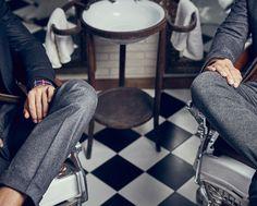 Look 1 - Barber Shop - Men - AW 15/16 - España (Excepto Canarias)/Spain (except the Canary Islands)