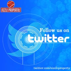 Follow us on #Twitter: https://twitter.com/sizzleproperty and stay updated with fascinating news about #SizzleProperties