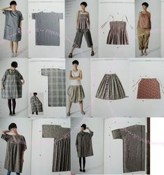 YOSHIKO TSUKIORI Cute Straight Easy Sewing Japanese Craft Book*: