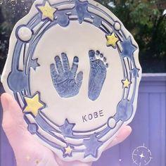 Baby Items For Sale, Handmade Baby Items, Custom Baby Gifts, Handmade Shop, Gifts For New Dads, New Baby Gifts, Footprint Art, Handprint Art, Star Wars Birthday