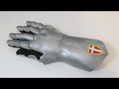 This is a tutorial on how to make a great looking pair of knight gauntlets out of craft foam. You just need some simple supplies like foam, paint and a cloth...