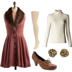 cold weather dress-up