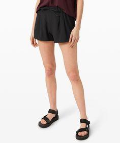 "Stroll at Sundown Short 3"" | lululemon | Japan Warm Weather, Casual Shorts, Women's Shorts, Lululemon, Japan, How To Wear, Stuff To Buy, Color, Shopping"