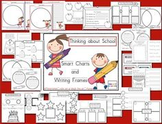 Thinking about School: Smart Charts and Writing Frames...30+ charts, 100 pages