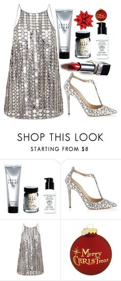 """""""Party hardy"""" by lseed87 ❤ liked on Polyvore featuring Bobbi Brown Cosmetics and Wes Gordon"""
