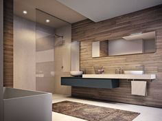 Salle de bains complète en stratifié CUBIK N°12 - IdeaGroup