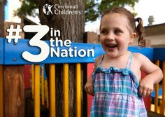 #3 in the Nation | Cincinnati Children's | 30-second spot(you tube video from CCHMC)
