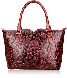 PIJUSHI Floral Purse Designer Satchel Handbags Women Totes Shoulder Bags