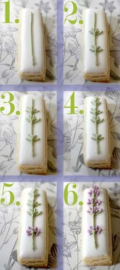 Antique Floral Confections - These Lavender Cookies are the Perfect Dainty Tea Time Treat (GALLERY)