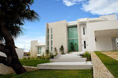 20 Fachadas de casas modernas com linhas retas - veja modelos maravilhosos!