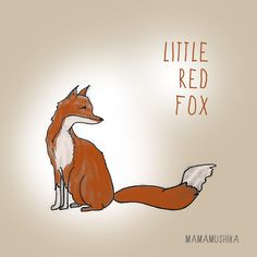 Little Red #Fox, now available for INSTANT DOWNLOAD via World Of OakLand
