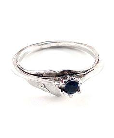Heart Sapphire Ring