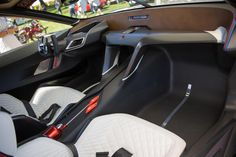 BMW concept car makes appearance at the among classics at the Pebble Beach Concours d'Elegance.
