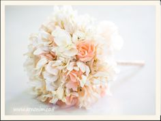 Bridal bouquets with silk flowers זרי כלה מע
