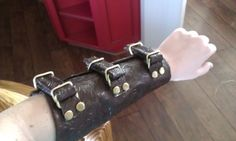Picture of How to Make a Vambrace When You Don't Know How to Sew or Work Leather