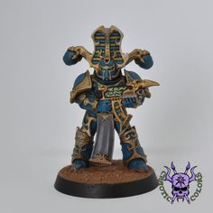 Thousand sons (Tzeentch) - Rubric Marine #ChaoticColors #commissionpainting #paintingcommission #painting #miniatures #paintingminiatures #wargaming #Miniaturepainting #Tabletopgames #Wargaming #Scalemodel #Miniatures #art #creative #photooftheday #hobby #paintingwarhammer #Warhammerpainting #warhammer #wh #gamesworkshop #gw #Warhammer40k #Warhammer40000 #Wh40k #40K #chaos #warhammerchaos #warhammer40k #tzeentch #thousandsons #Rubricmarine #rubric #marine A Thousand Suns, Sun Art, Warhammer 40000, Tabletop Games, Space Marine, Rubrics, Warfare, Minis, Miniatures