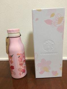 Starbucks Japan SAKURA  2018 Stainless Bottle Variety petals cherry blossom gift #Starbucks