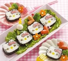 OMG! Hello Kitty Sushi!!!!