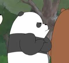 Ihh bear kentut    C Bear Meme, We Bare Bears Wallpapers, Bear Wallpaper, We Bear, Cute Bears, Scribble, Cartoons, Background Pics, Stickers