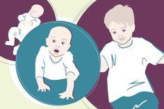 Jeden Monat lernt dein Baby so viel Neues. Verfolge seine Entwicklungsschritte vom Baby zum Kleinkind mit unserem Babyentwicklungskalender!