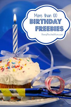 Happy Birthday to you! What is better then celebrating? How about getting lots of great freebies! Check out this great list filled with more than 100 FREEBIES you can score when you turn another year older! It's Your Birthday, Girl Birthday, Birthday Parties, Birthday Gifts, Happy Birthday, Free Birthday, Birthday Freebies, Pokerface, Special Day