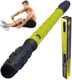 Body Muscle Roller Stick Yoga Therapy Trigger Point Massage Workout Fitness
