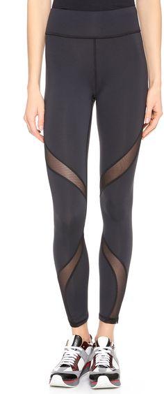 2c487b9354e1ee MICHI Supanova Leggings Basic Leggings, Black Leggings, Norma Kamali, Alice  Olivia, Yoga