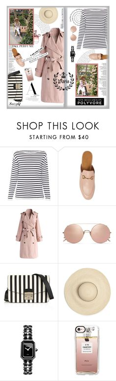 """""""POLYVORE FEATURE: End of Summer Garden"""" by polyvore-suzyq ❤ liked on Polyvore featuring Gucci, Chicwish, Nina Ricci, Sunday Somewhere, Furla, Chanel and Casetify"""