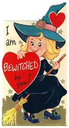 Vintage Valentine: Bewitched