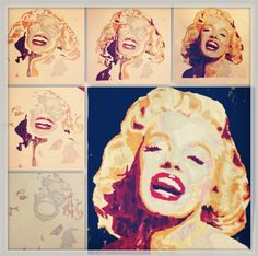 #artist #drawing #illustration #artsygallery  #picoftheday #like #follow #sketch #draw #drawing #art #ink #pencil #Marilyn Monroe collage