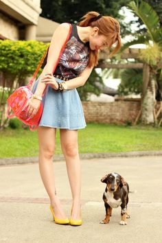 31 Days of Style: Stephanie Dy Tiger Tank, 31 Days, Asian Style, Everyday Look, Put On, Denim Skirt, Your Style, Style Inspiration, Chic