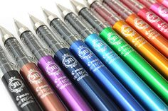 Fine tipped pens have always been my weakness!! || Pilot Hi-Tec-C Maica Gel Ink Pen - 0.4 mm - 12 Color Set